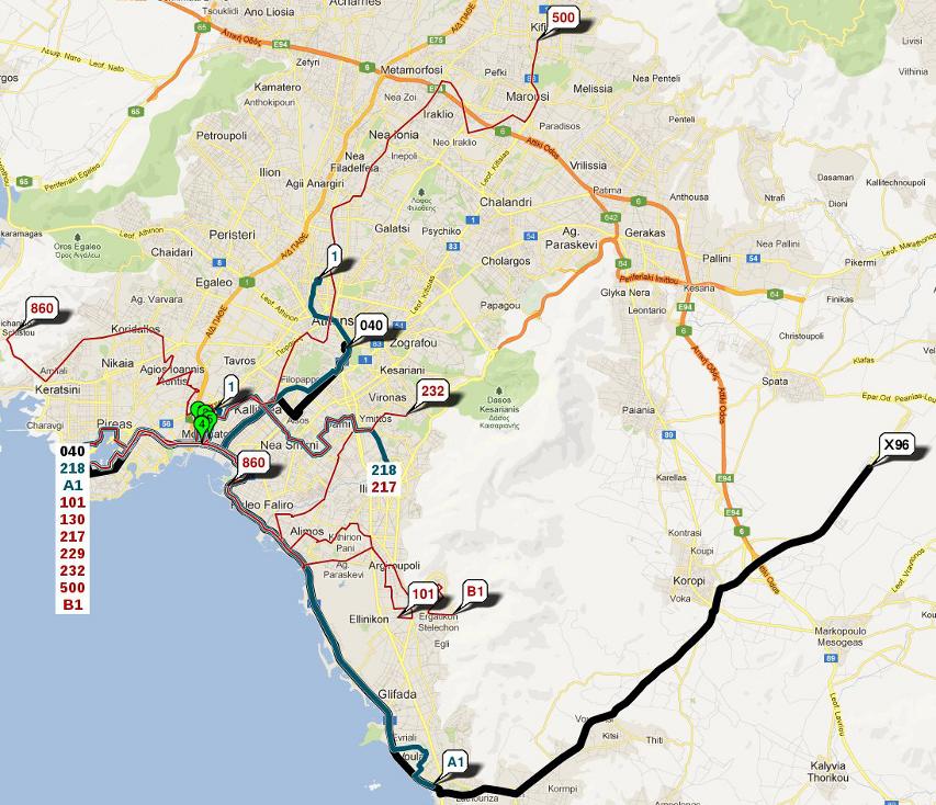 Athens Public Transport App V2